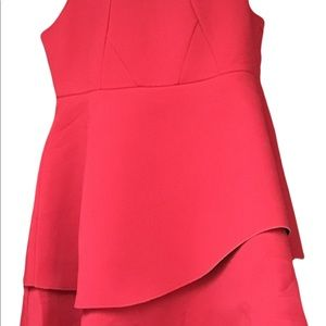 Eloquii Red Bonded Tulle Dress Size 20